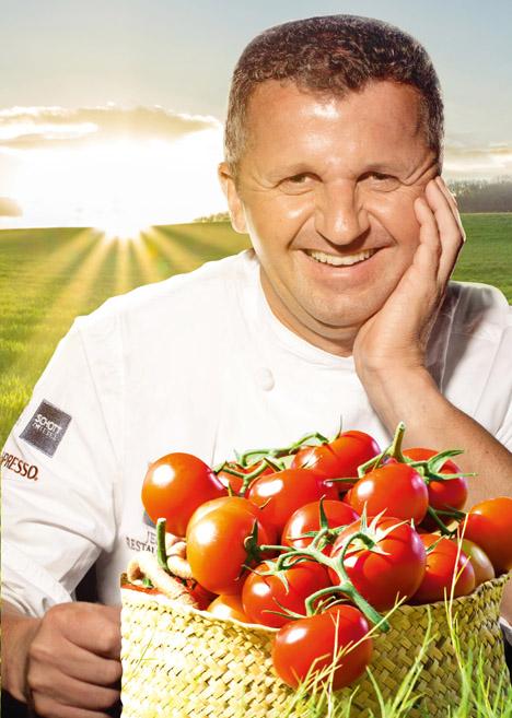 Rolf Straubinger, Chefkoch des Restaurants Burg Staufeneck. Foto © SanLucar