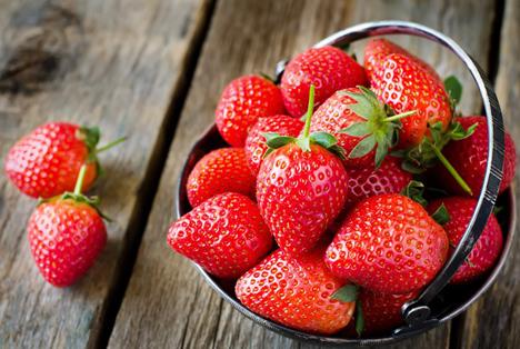 Sehr seltener später Rekordertrag britischer Erdbeeren bis Oktober