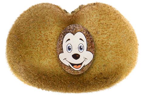 """Kiwi-Doppelfrüchte """"Maus-Kiwis"""" Foto © VollCorner Biomarkt"""