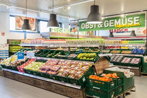 Neuer ALDI Markt in Herten. Foto © ALDI Nord