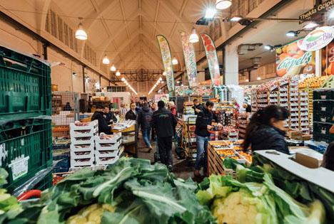 Grossmarkt Muenchen Foto © Blog Großmarkt in Sendling. Jetzt.