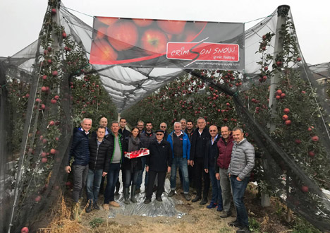 Crimson Snow® Europe Meeting in Piemont. Foto © Crimson Snow