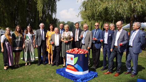 Bodensee-Apfelsaisoneröffnung. Foto © Obst vom Bodensee Marketing GmbH