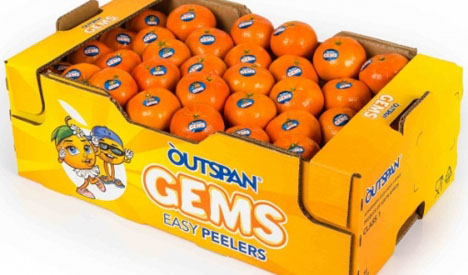 Outspan-Gems-Easy-Peeler Foto © Capespan Group
