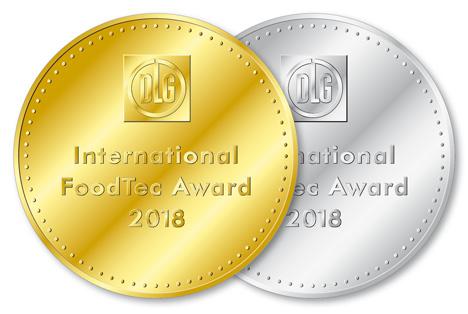 IFTA 2018 Medaillen. Quelle: DLG