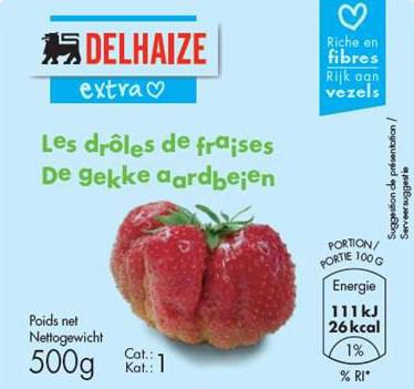 Erdbeeren Quelle: Delhaize