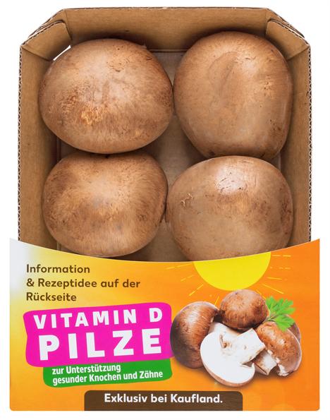 Vitamin-D-Pilze exklusiv bei Kaufland. Foto © Kaufland