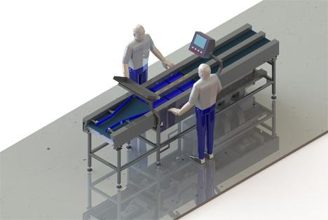 Neue Light to Perform-Wiegemaschine ARCO - Reduzierung der Produktverluste um 5 % durch Verpackungskonzept mit hoher Kapazität. Foto ARCO