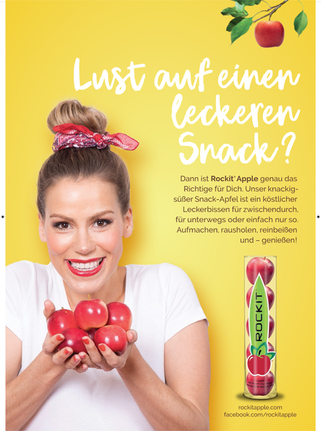 Poster: Rockit® Apple Foto Red Apple Germany GmbH