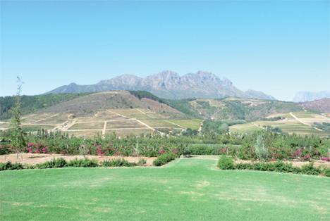 Foto Hortgro Bon Esperance liegt inmitten der wunderschönen Berglandschaft des Kapweinlandes. Foto Hortgro
