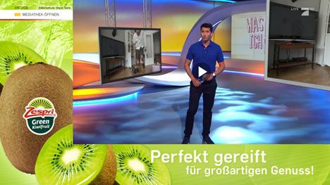 Banner Addressable TV / Zespri Kiwi. Foto © Zespri