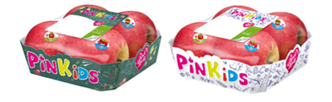 PinKids® Verpackung. Foto © Pink Lady Europe