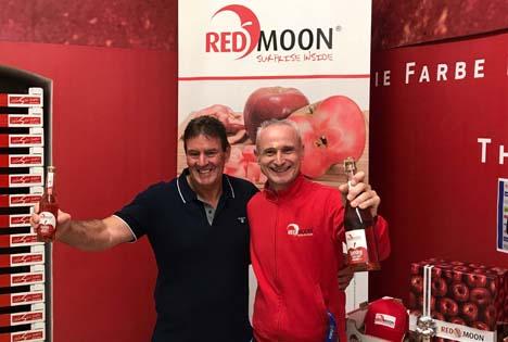 Billy Barolli mit RedMoon® CEO Jürgen Braun Foto © RedMoon®