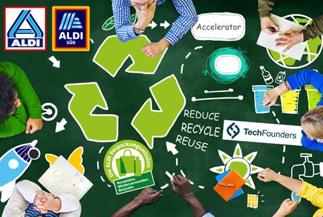 Aldi fördert nachhaltige Verpackungslösungen. Foto © ALDI SÜD