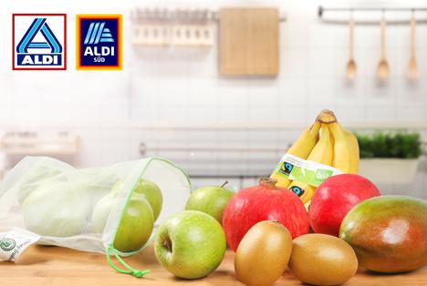 40.000 Tonnen Verpackungen eingespart: Foto © ALDI