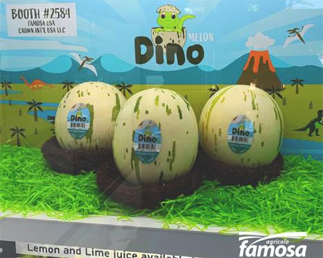 Dino-Melone Foto © Agricola Famosa