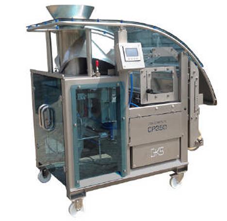 GKS CP 350 PLUS Schlauchbeutel-Verpackungsmaschine. Foto © KRONEN GmbH