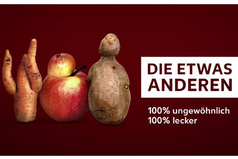 Kaufland verkauft Obst und Gemüse mit optischen Mängeln. Quelle: obs/Kaufland