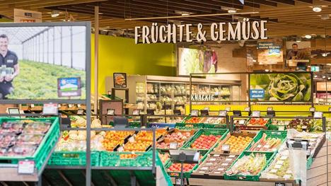 Der Migros-Supermarkt in Wohlen. Foto © Migros Ostschweiz