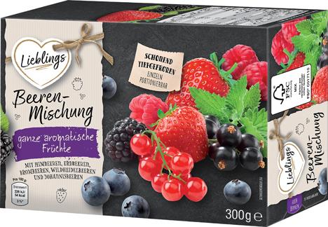 """Neue Eigenmarke """"Lieblings"""". Foto © Netto Marken-Discount"""