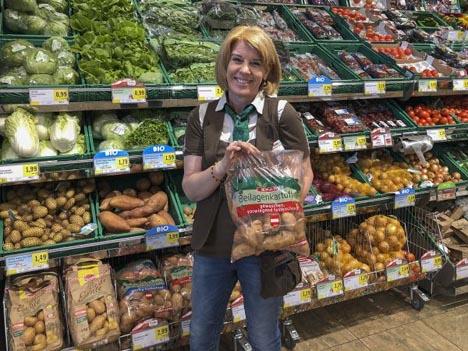"""Die Kartoffeln werden unter der Marke """"SPAR"""" angeboten. Foto © SPAR"""