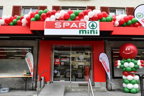 SPAR mini in Rapperswil. Foto © SPAR Schweiz