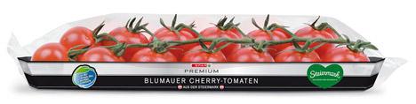 SPAR PREMIUM Cherry-Tomaten, in der 200g Tasse um 2,49 €. Foto © SPAR