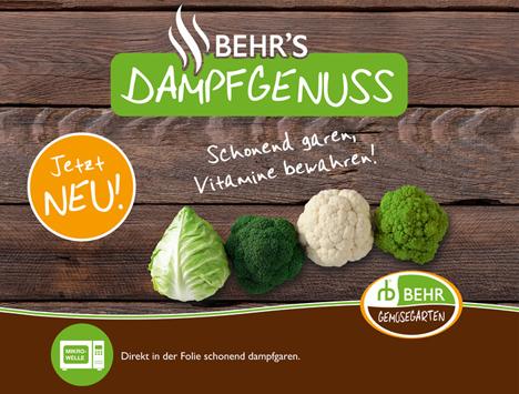 BEHR´s Dampfgenuss. Foto © BEHR AG