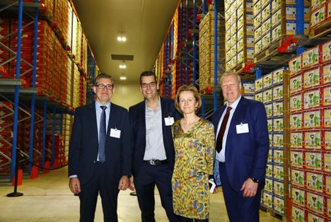 Luik Natie Coldstore eröffnet neue Einrichtung in Hafen von Antwerpen