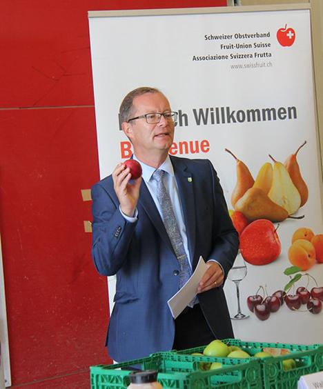 Walter Schönholzer Foto © Schweizer Obstverband
