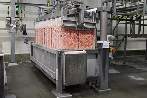 Das Plattenfrosten ist u. a. eine wichtige Dienstleistung von VDKL-Kühlhäusern. Foto © VDKL