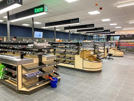 XXL-Store - größte ALDI SÜD Filiale der Welt eröffnet im Ruhrgebiet. Foto © Aldi Süd