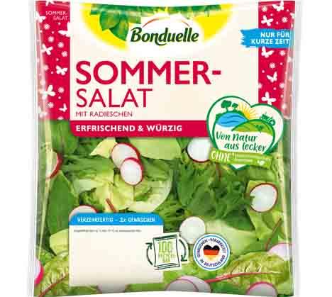 Sommersalat: 150-g-Beutel. Foto © Bonduelle