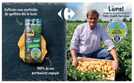 Carrefour CQL-Kartoffeln. Foto © Carrefour