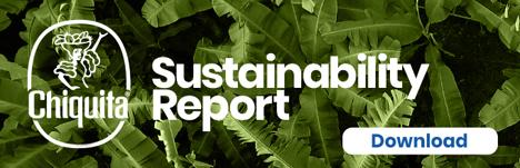 Chiquita kündigt neuen Nachhaltigkeitsbericht