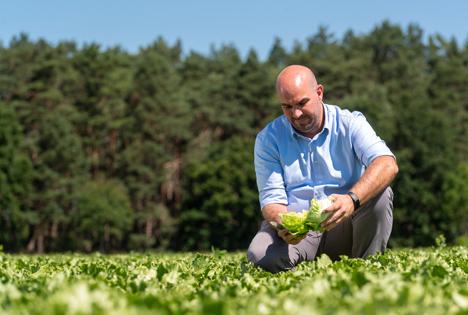 Florian Oswald, Qualitätsmanager. Foto © Erzeugerorganisation Mecklenburger Ernte GmbH