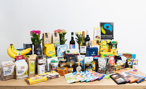 Fairtrade Produktsortiment. Foto © Jakub Kaliszewski / Fairtrade