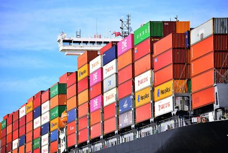 Hafenbetrieb Rotterdam. Foto © Danny Cornelissen