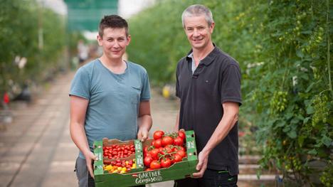 LGV Gärtner aus Wien-Donaustadt Thomas und Martin Merschl. Foto © LGV Sonnengemüse