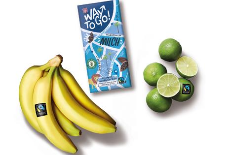 Fast jede zweite Fairtrade-Banane in Deutschland bei Lidl gekauft. Foto © Lidl