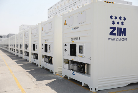 Maersk Container Industry secures first order from ZIM Foto © MCI