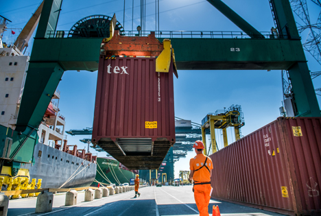 Port of Antwerp Terminal MPET Deurganckdok Foto  MPET_PSA_2019Foto © Port of Antwerp