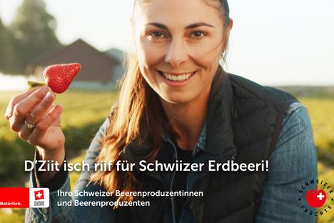 Schweiz: Das Gesicht hinter den Beeren