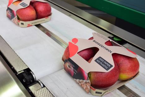 """Verpackungen aus """"Graspapier"""". Foto © VOG"""