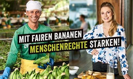 Bild World Banana Day am 15. April. Foto © Verein TransFair e.V.