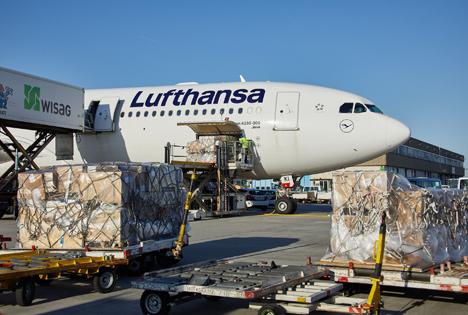 Airbus A330-300 Loading. Foto © Lufthansa Cargo