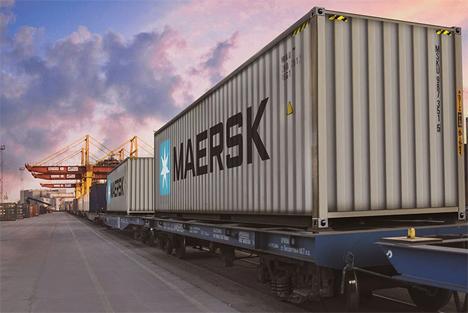 Maersk macht AE19-Ozean-Gleis-Dienst von Asien nach Europa dauerhaft. Foto © Maersk
