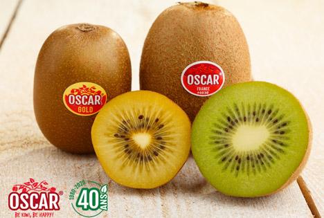 Frankreich: Kiwi-Marke Oscar feiert ihr 40-jähriges Jubiläum
