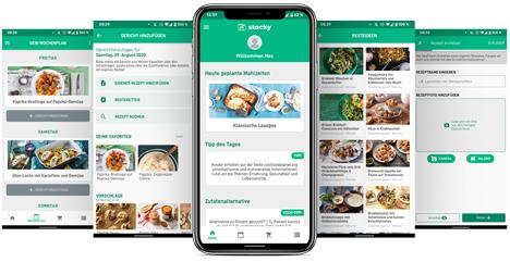 stocky App Foto © KErn – Kompetenzzentrum für Ernährung