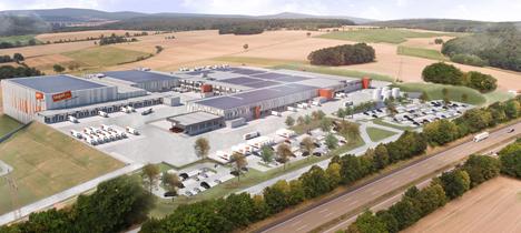 tegut… Logistikzentrum Foto © UM-Werbephotographie Ulrich Mayer, tegut… gute Lebensmittel GmbH & Co. KG